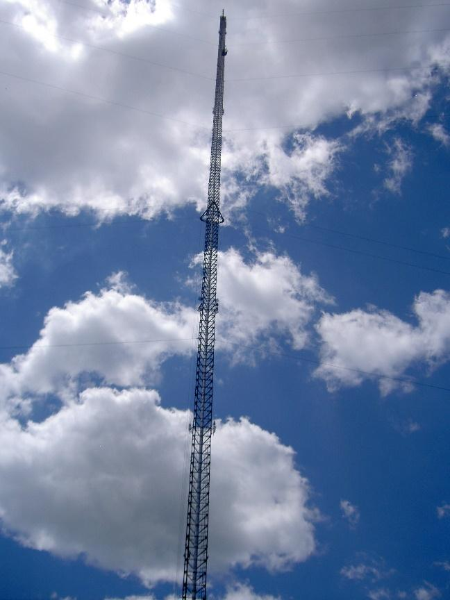 Point to Multi Point Wireless No Limits Internet Service Tower