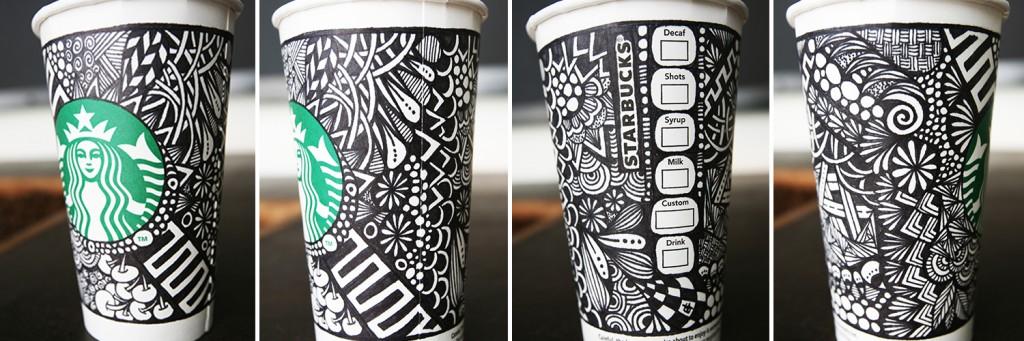 Starbucks White cup campaign