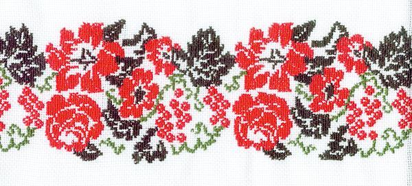 Мотиви орнаментів вишивок
