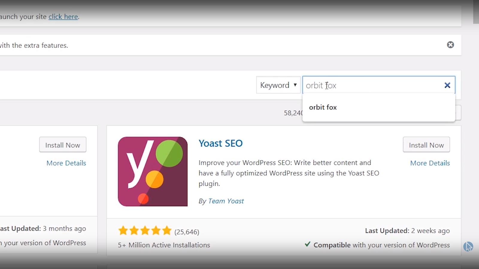 search plugins wordpress tutorial for beginners