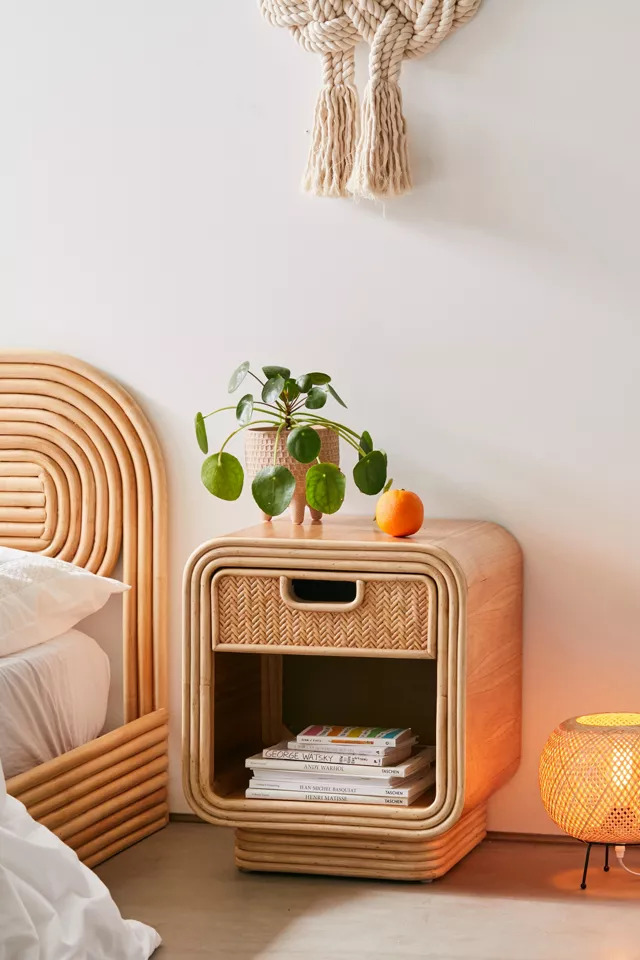 Nightstand Ideas With Natural Material