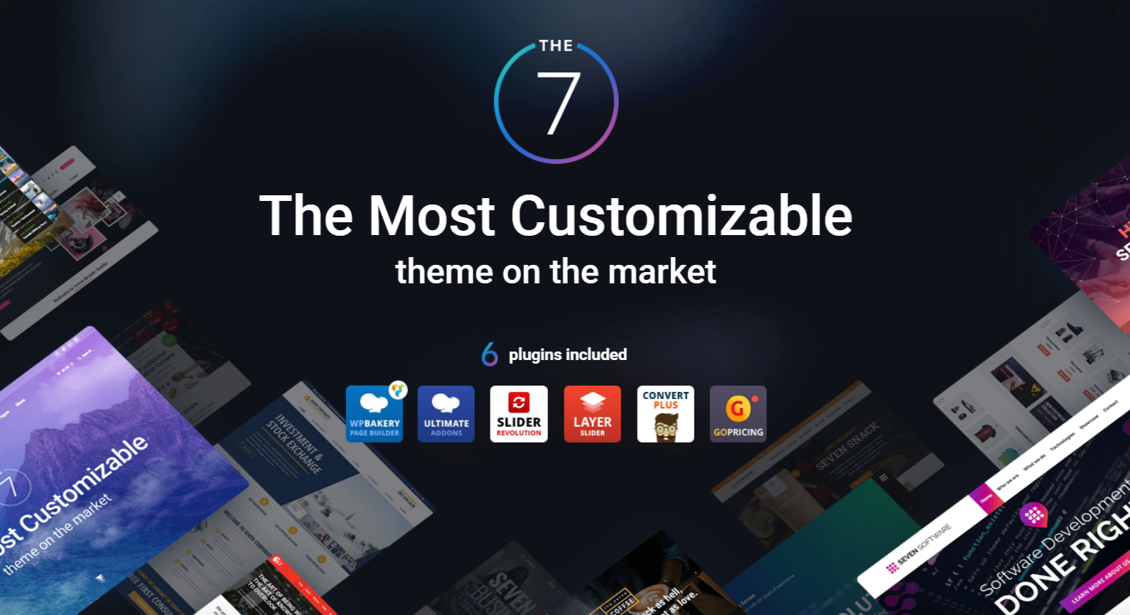The7 best WordPress theme