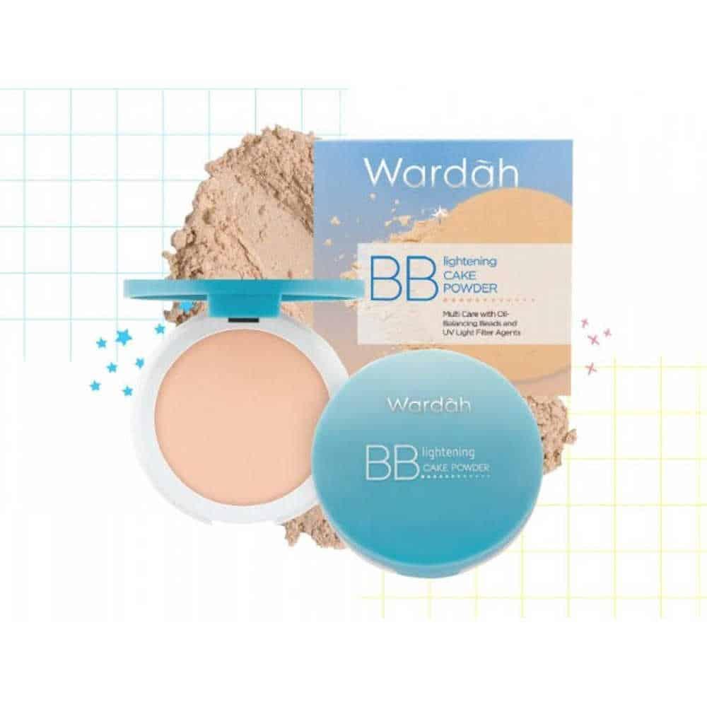 Wardah BB Lightening Cake Powder