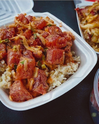 Get a poke bowl (#8 on 26 best things to do on Oahu)