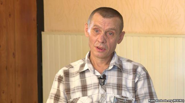 Сергей Осипов, отбывал наказание в тюрьме, контролируемой боевиками