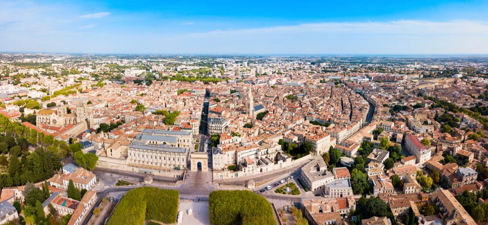La géographie autour de Montpellier