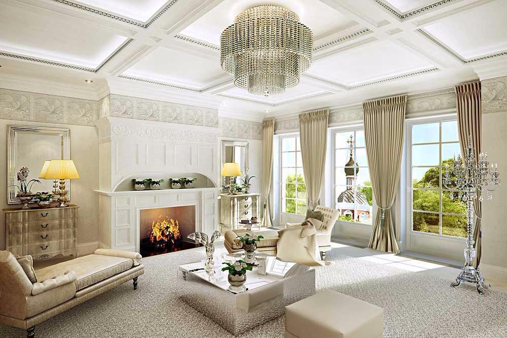 Chiến lược tạo phòng khách sang trọng của các nhà thiết kế nổi tiếng