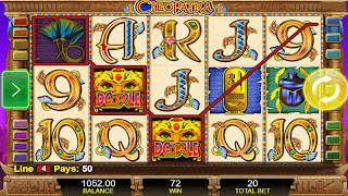 Cleopatra Slot Machine Game