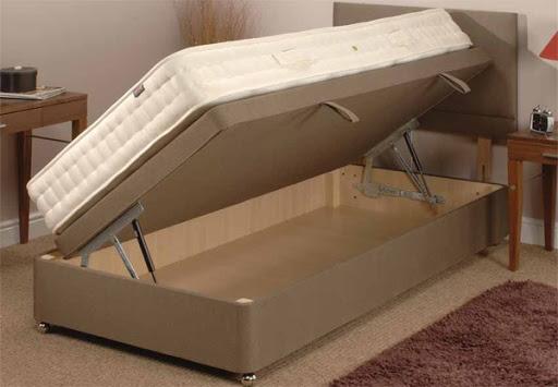 Односпальная кровать с боковым подъемом кровати