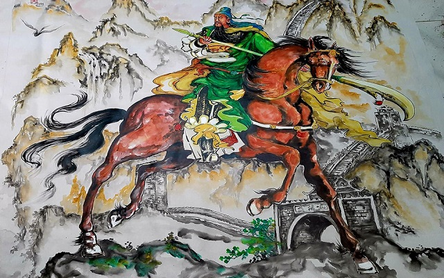 Quan Công là vị tướng uy phong dũng mãnh trong lịch sử Trung Quốc