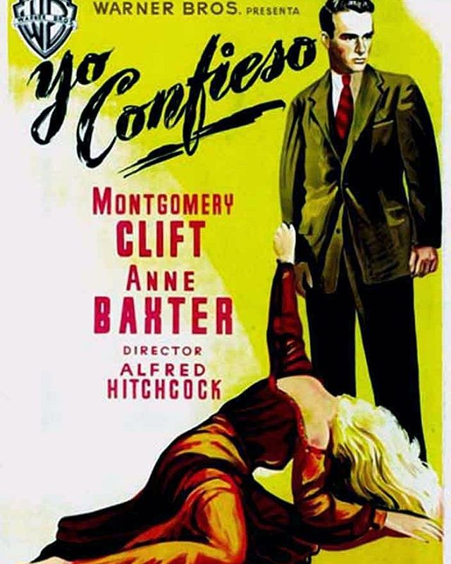 Yo confieso (1953, Alfred Hitchcock)