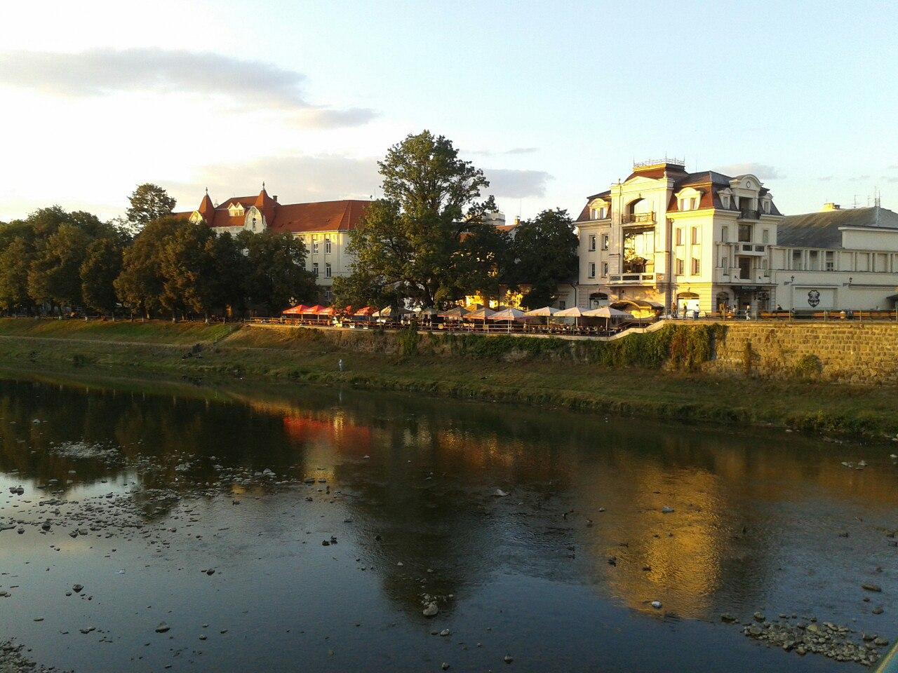 Прогулянки в Ужгороді