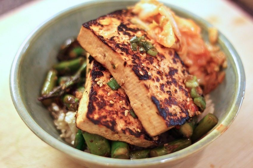 Korean-style tofu