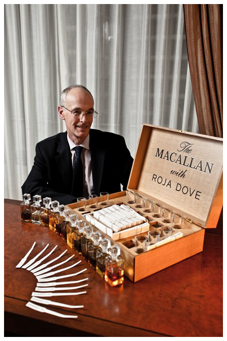 香水 酒 用聞的威士忌 Macallan and Roja Dove