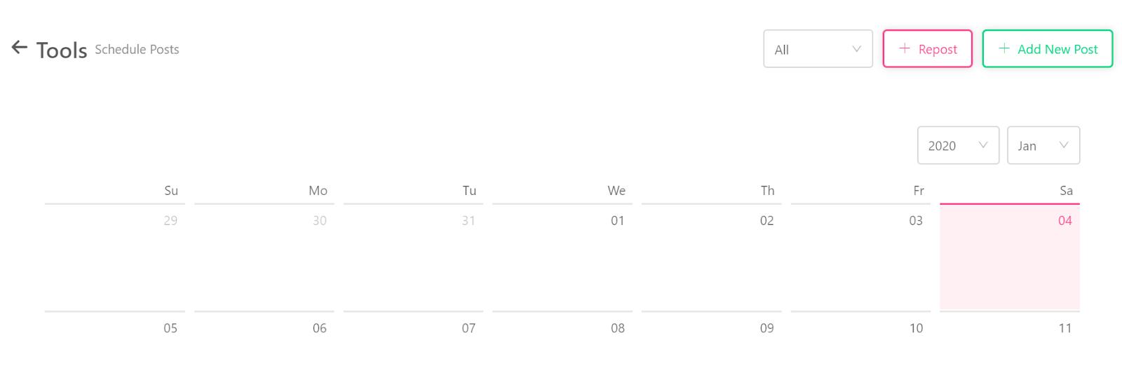 Instarabbit schedule post