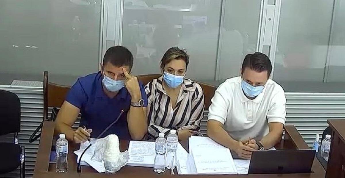 Судебное заседание Высшего антикоррупционного суда по избранию меры пресечения Марине Лозовенко