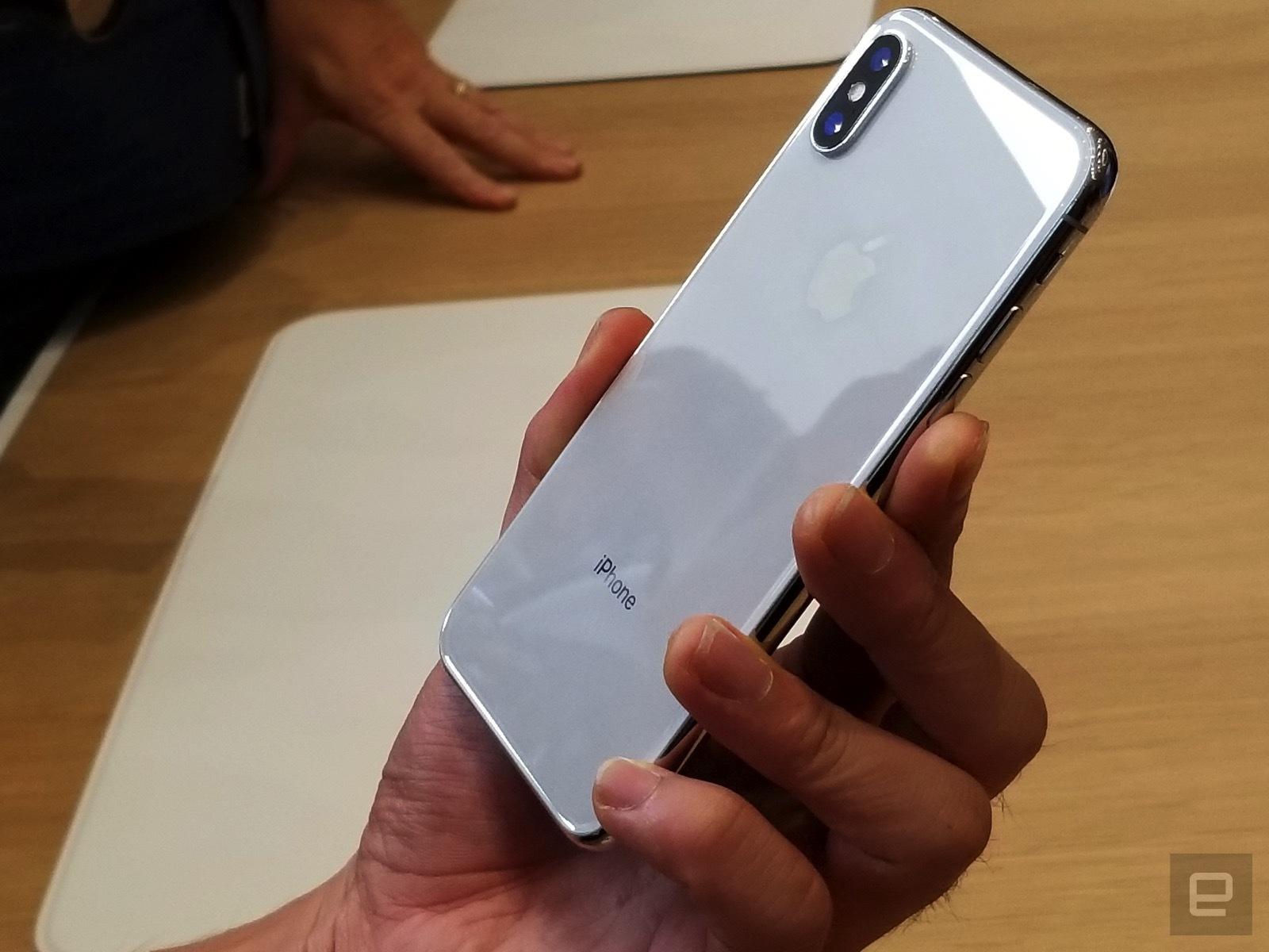 1 chiếc iPhone X