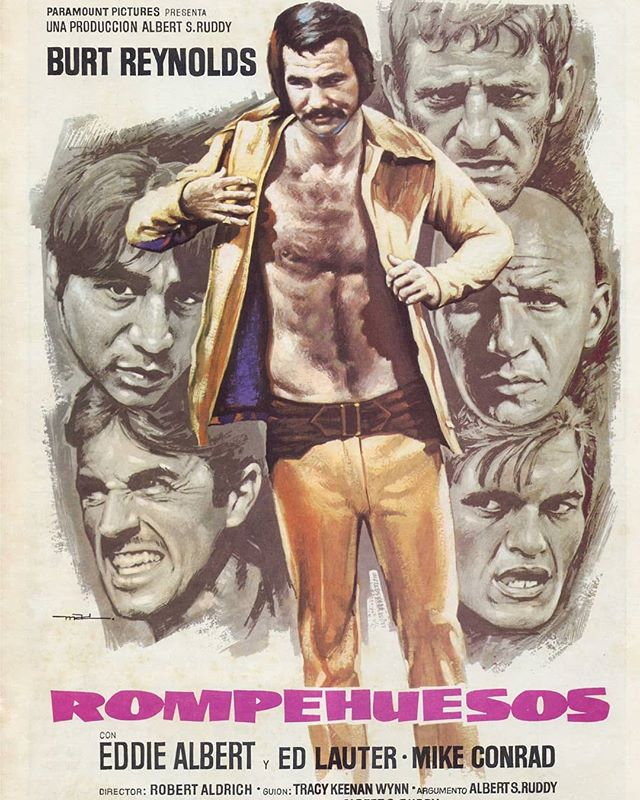 El rompehuesos (1974, Robert Aldrich)