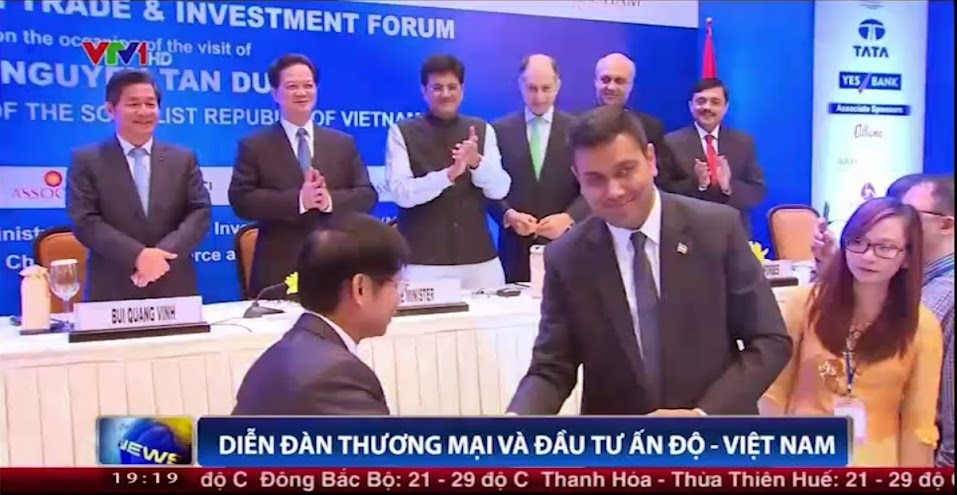 To transfer shares of Hanoi – Hai Phong Expressway to the Indian Investor