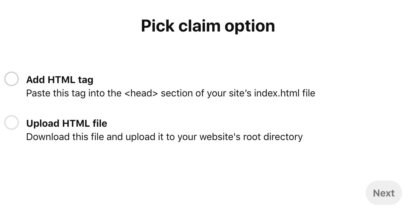 Add HTML tag
