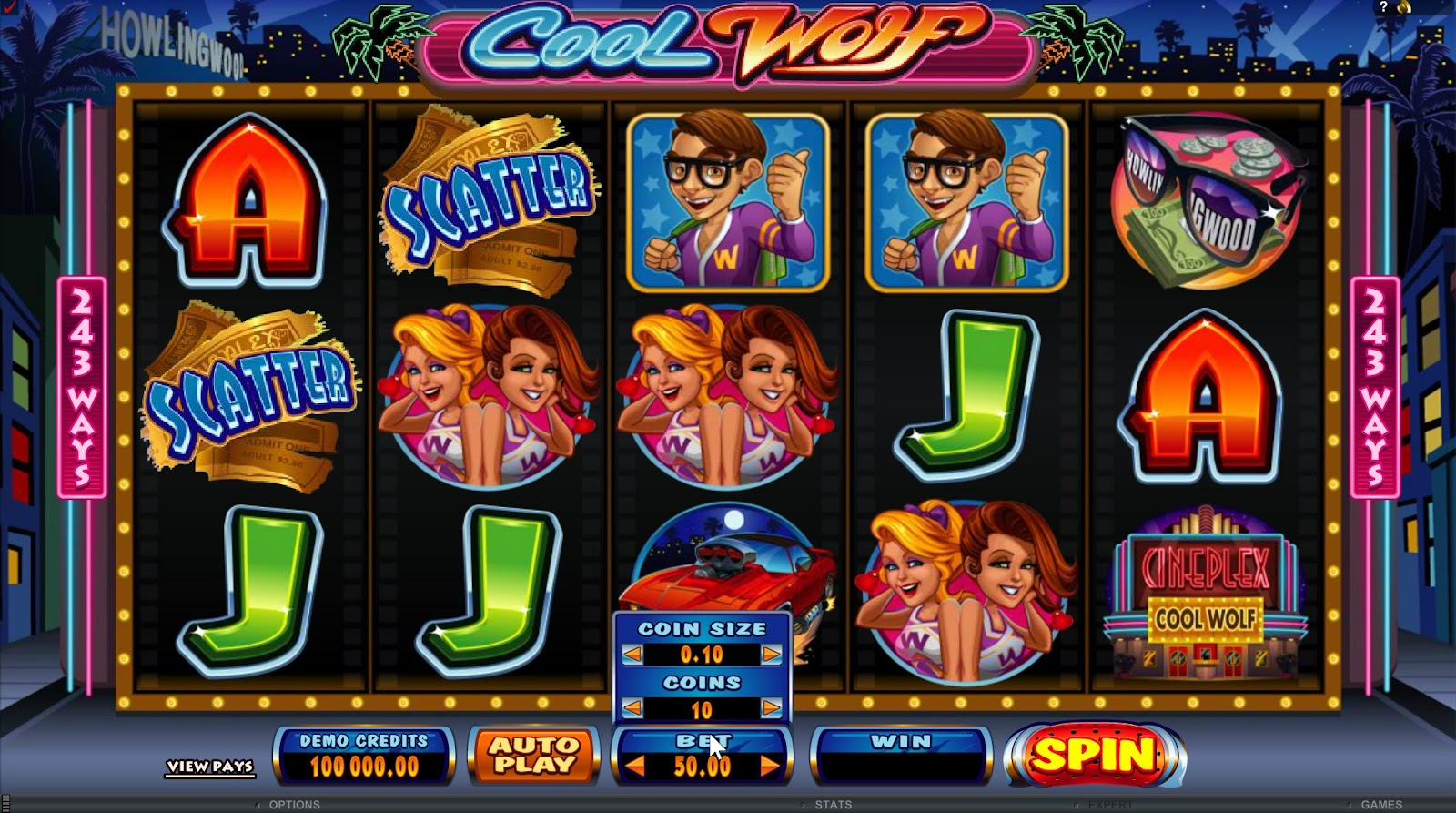 Cool Wolf Slots Game Review