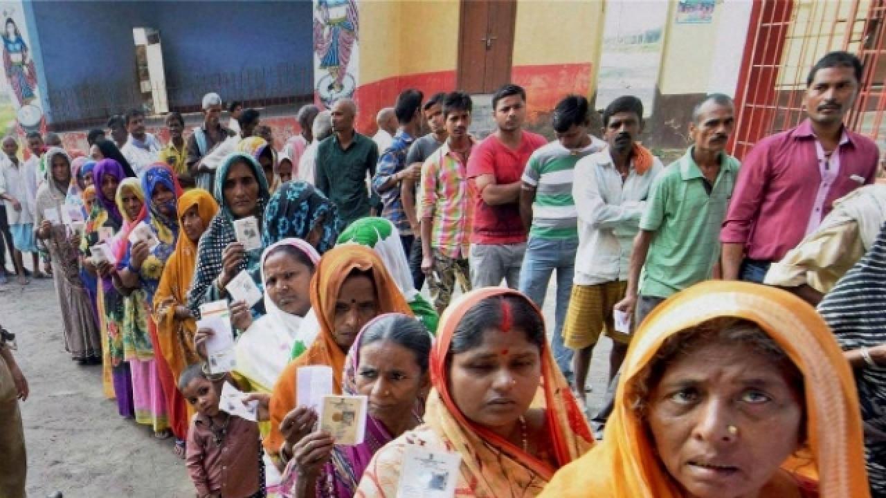 Voters Bihar Panchayat Polls