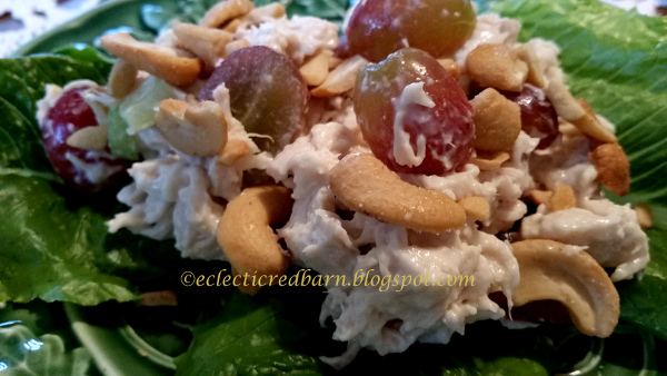 Eclectic Red Barn: Yummy Chicken Salad