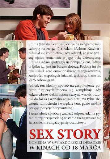 Tył ulotki filmu 'Sex Story'