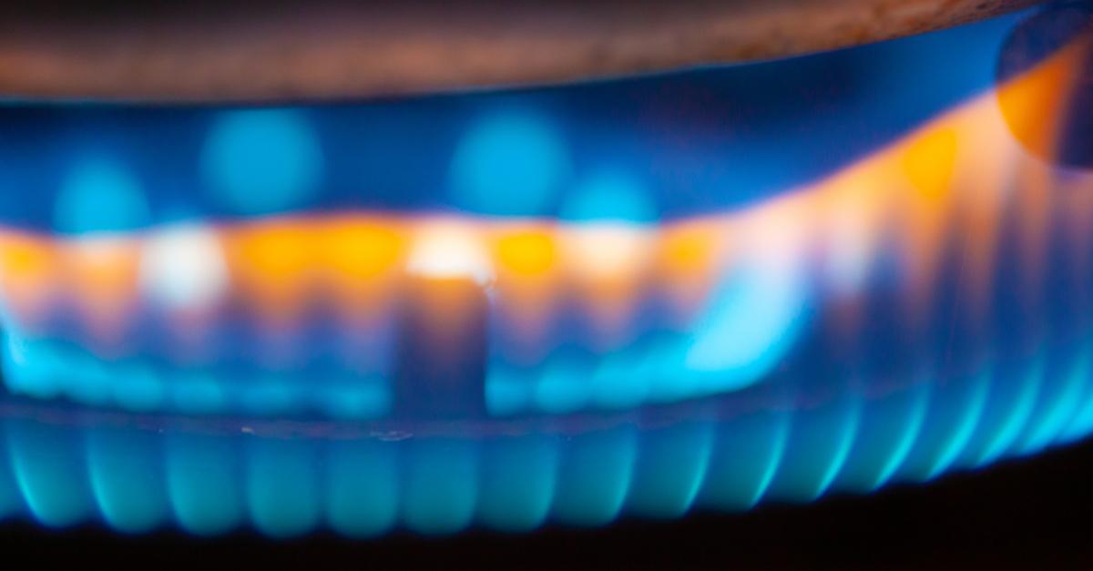 up close photo of a furnace burner