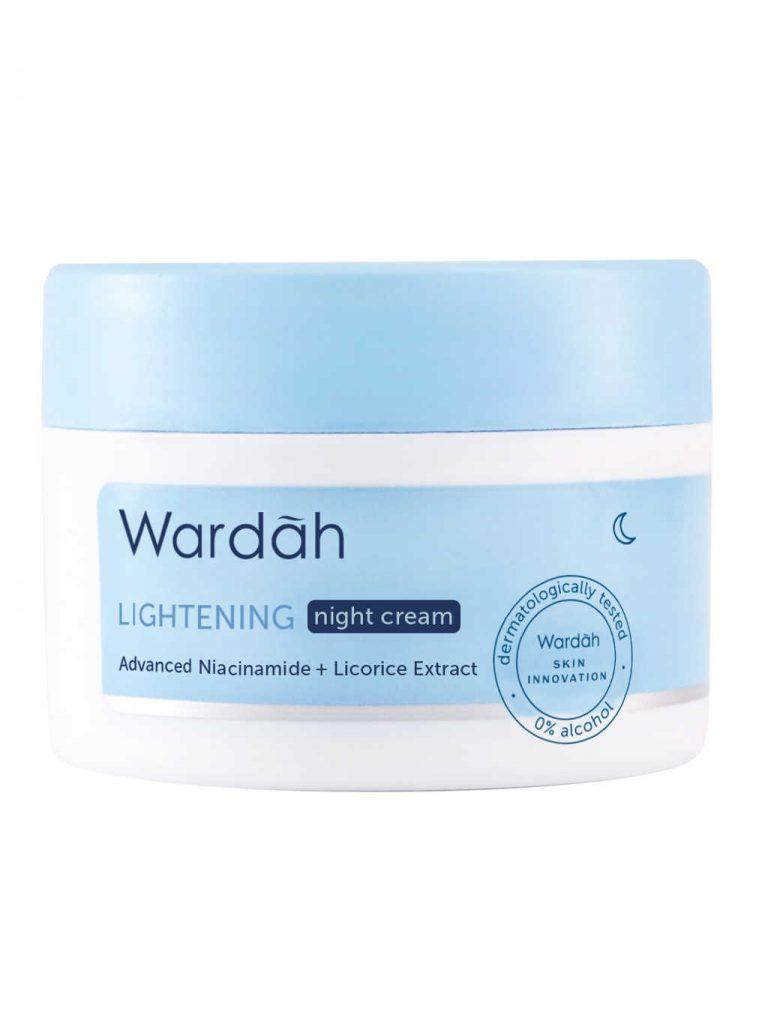 Wardah Lightening Night Cream Advanced