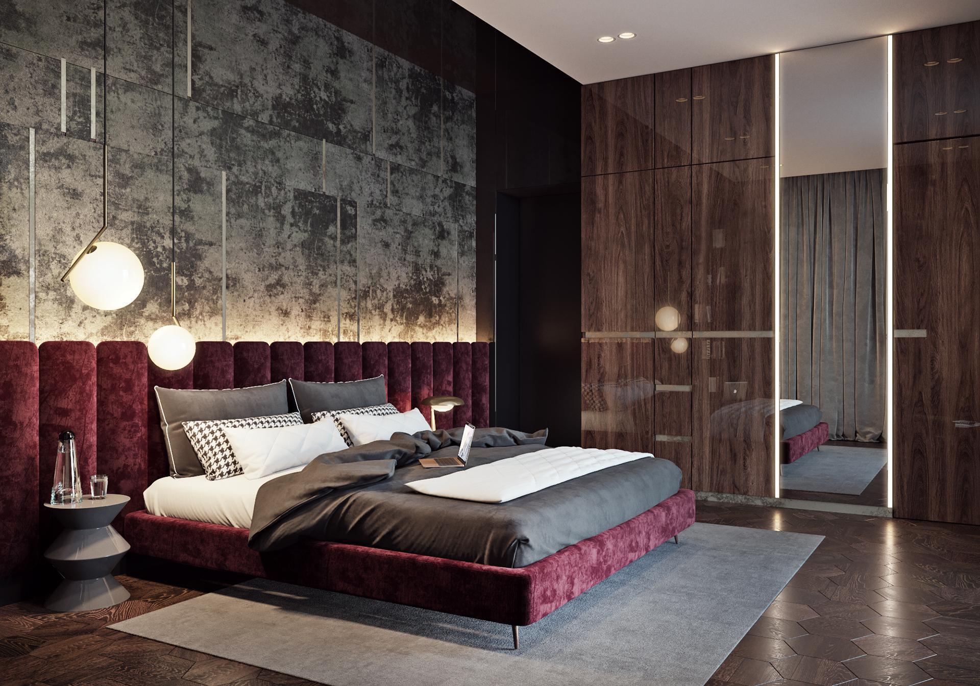 Nội thất phòng ngủ tân cổ điển 3
