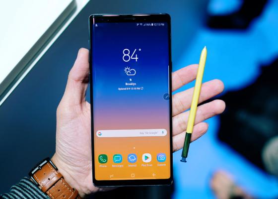 Sửa, thay rung Samsung Galaxy Note 9 lấy ngay tại Hà Nội