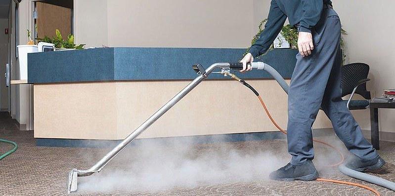 Hướng dẫn các bước giặt thảm văn phòng nhanh- gọn- lẹ