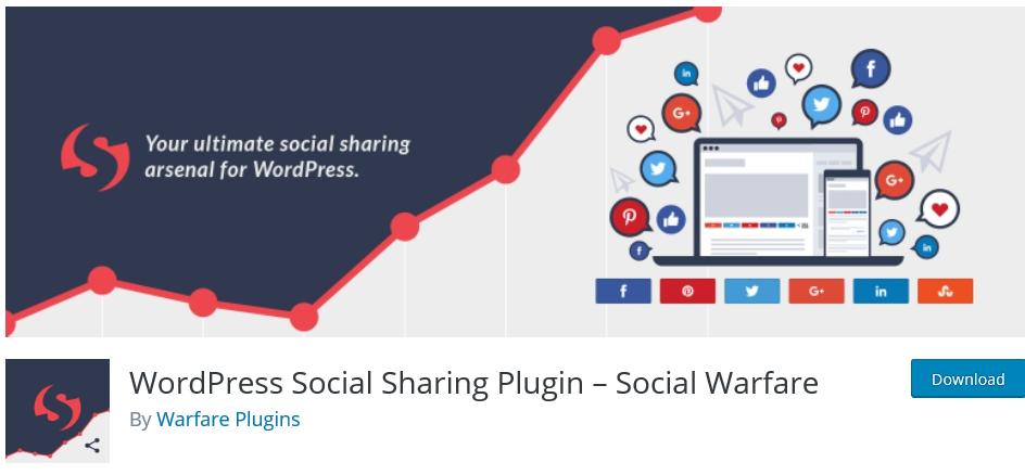 WordPress social sharing plugin