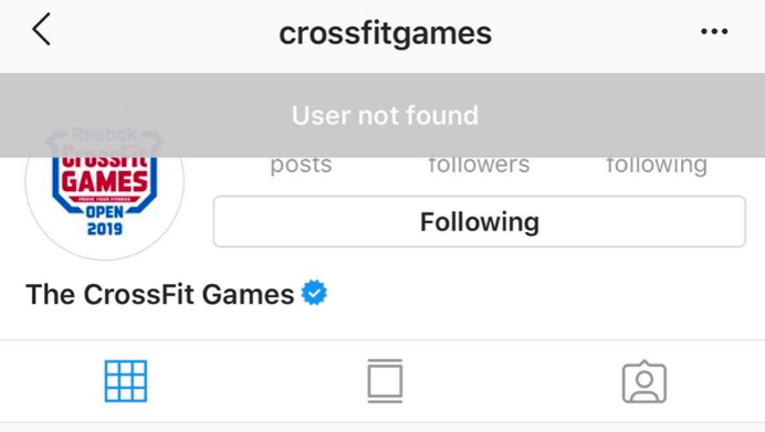Instagram DM glitch