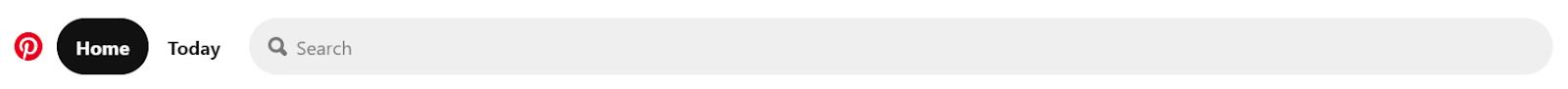 Screenshot of Pinterest - Image Search Engine