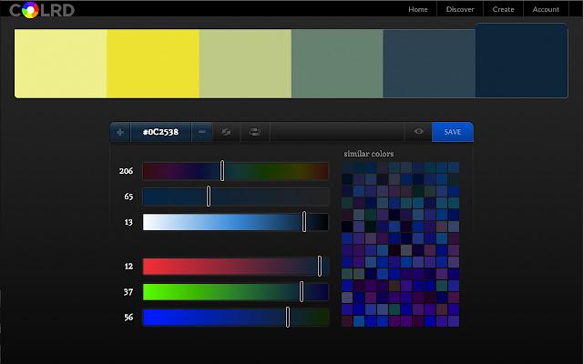 Palette Creator Chrome Web Store