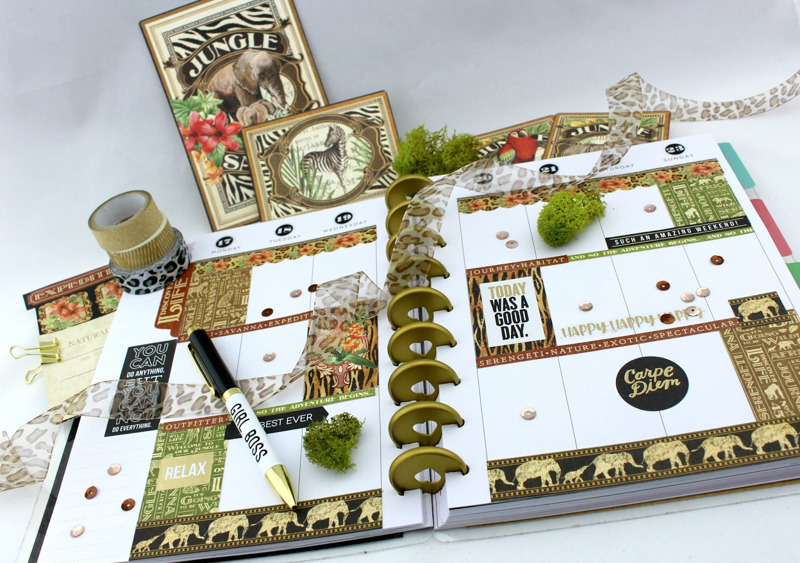 My JULY G45 Planner,Safari Adventure By Magda Cortez, Product by G45, Photo 15 of 20.jpg