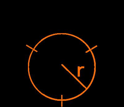 радиус вписанной окружности равностороннего треугольника