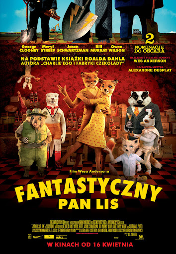 Polski plakat filmu 'Fantastyczny Pan Lis'