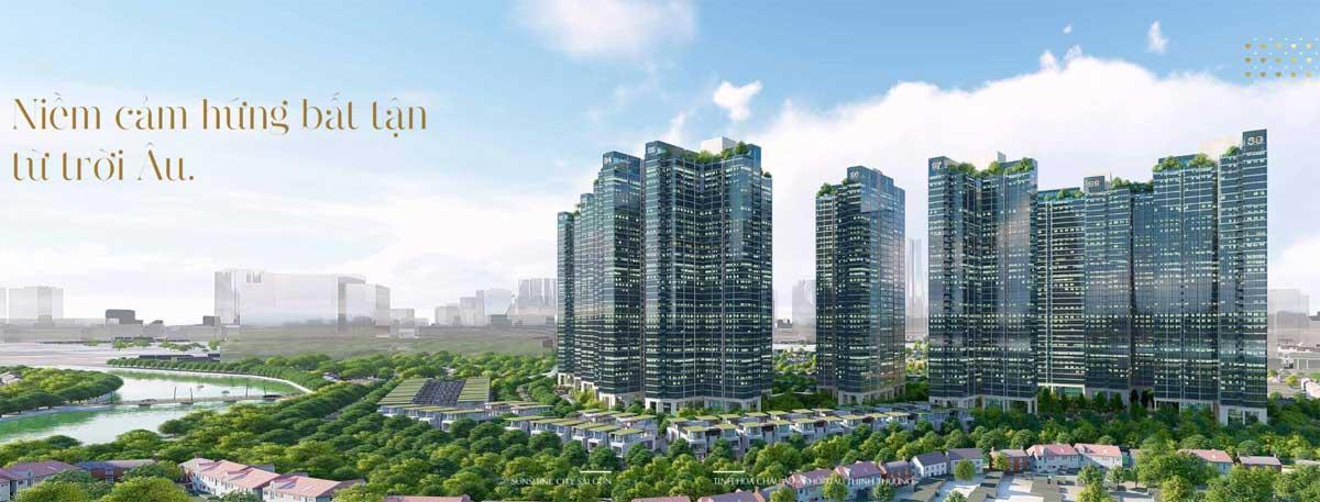 Liên hệ với ai để nhanh chóng tìm mua và sở hữu các căn hộ tại Sunshine City Group?
