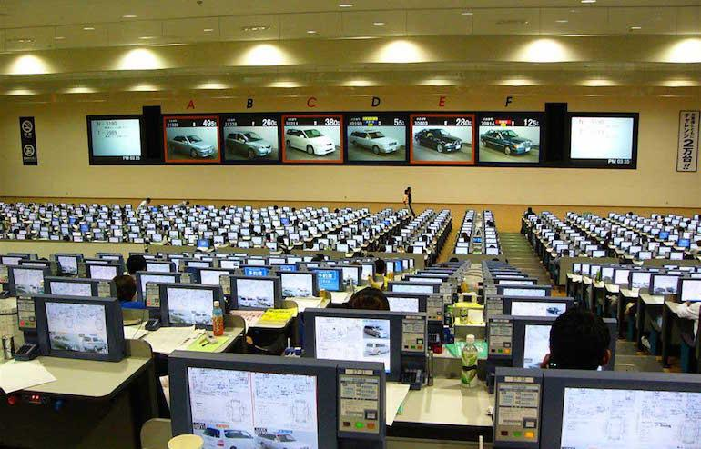 Корейские автоаукционы