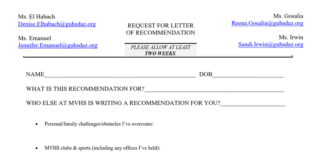 Request For Letter Of Recommendation from lh4.googleusercontent.com