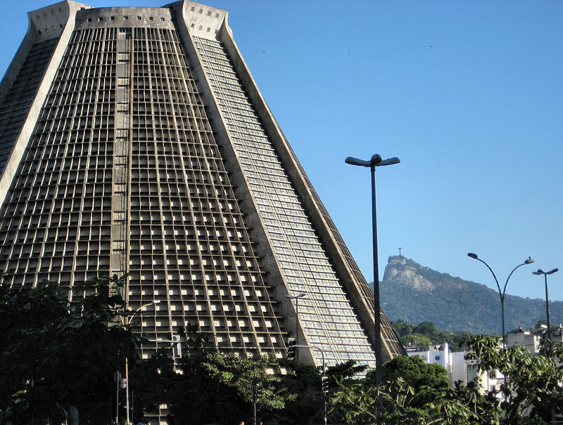 Catedral Sao Sebastiao Rio de Janeiro