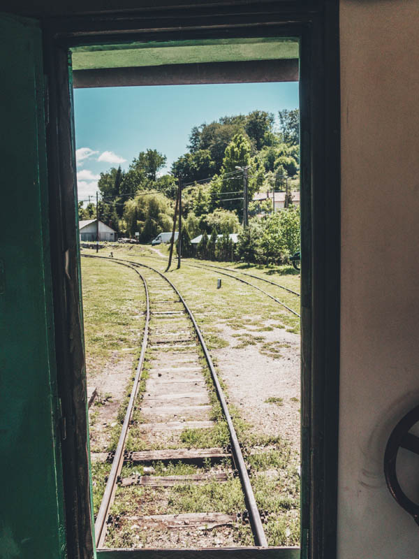 A train ride on the oldest railway in SE Europe, Oravita to Anina train ride