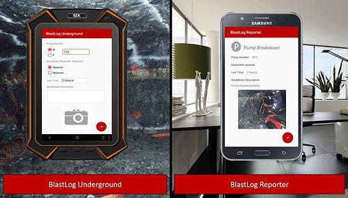 Blastlog app