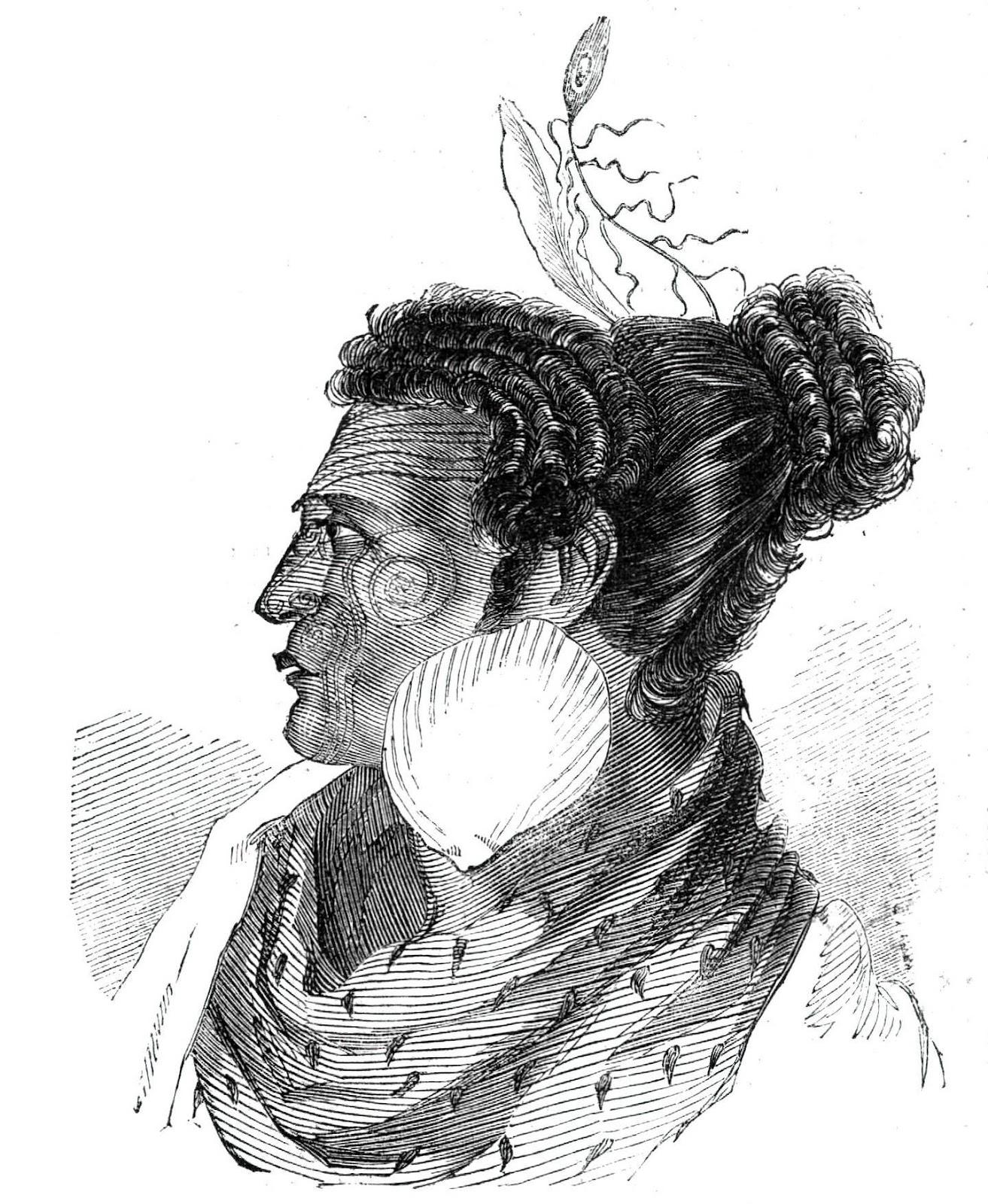 Te Rangihaeata, a chief of the Ngati Toa tribe and nephew of Te Rauparaha. Photo / Getty Images