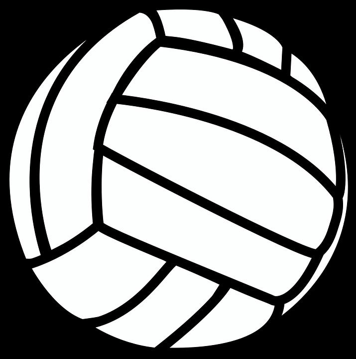 Volleyball, Sport, Black ...