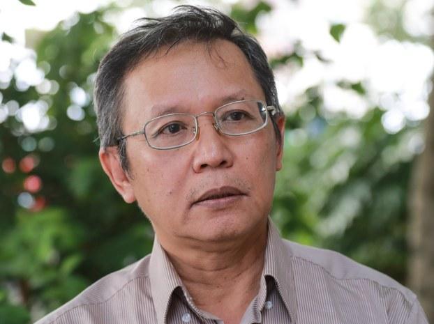 GS Phạm Minh Hoàng tại Le Kremlin-Bicetre, Pháp hôm 26/6/2016.
