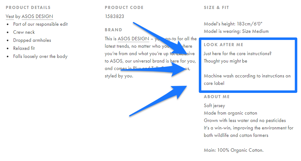 Product Descriptions: How to Write a Product Description That Sells [Examples + Template] 16